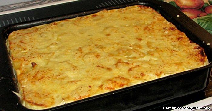 Запеканка картофельная в духовке рецепт с пошагово